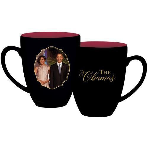 - African American Expressions - The Obamas Coffee Mug, 15 oz Dishwasher & Microwave Safe (4.25