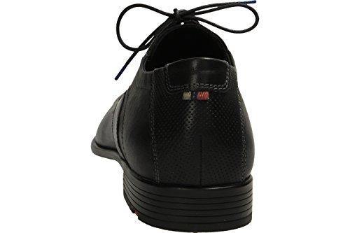 LLOYD 17,045,10 - Zapatos de cordones de Piel para hombre negro