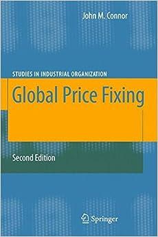 Global Price Fixing (Studies in Industrial Organization)