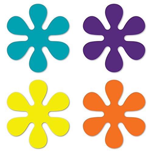 - Magnet America Set of 4 70's Flower Pack
