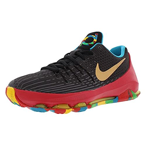 new styles bba79 a168a ... Nike KD 8 Youth Basketball Shoe BlackMulticolored Basketball Shoe 4  Kids US  Nike Zoom ...