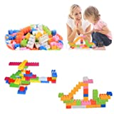 MAZIMARK--144Pcs Plastic Puzzle Educational Building Block Bricks Toy For Children Kid