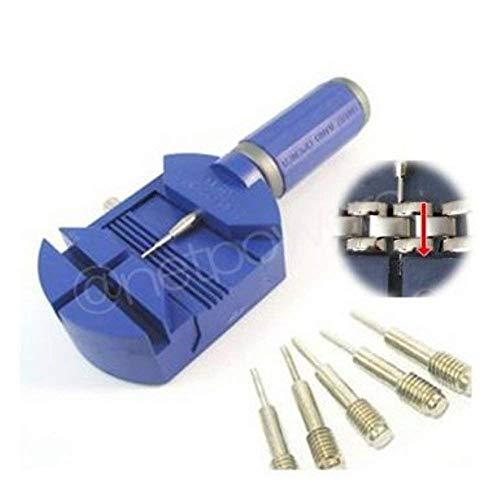 1c1637188d プロ用時計工具 時計ベルト調整 プラスチック製こまはずし 交換ピン(ブルー)