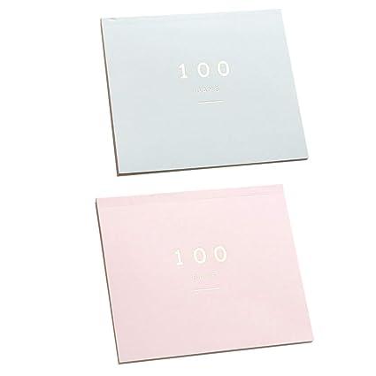 STOBOK 2pcs 100 días Planificador Cuaderno Planificador ...