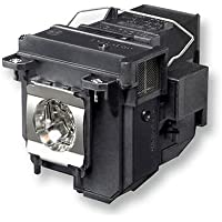 ROCCER ELPLP71 / V13H010L71 Replacement Lamp with Housing for Epson Projectors