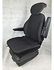 Gorilla Tractorstoel, sleepstoel, graafmachine, stapelstoel, bestuurdersstoel, basic Eco Plus stof