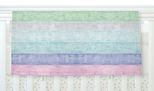 KESS InHouse Monika Strigel ''Beach Wood Pastel'' Fleece Baby Blanket, 40'' x 30'' by Kess InHouse (Image #1)