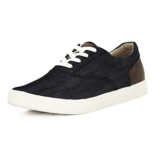 Burnetie Men's Black Denim CVO Sneaker 13 M US