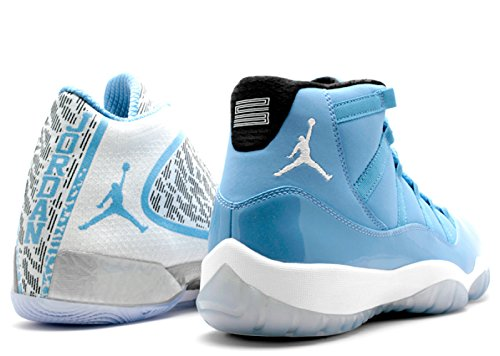 Jordan Air Ultimate Gift of Flight Pantone Pack Retro XI Men's Shoes Blue/White/Black 717602-900 (11 D(M) US)