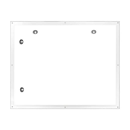 Horizontal and Vertical Isaac Jacobs Wall Mountable Acrylic Picture Frame 16x20