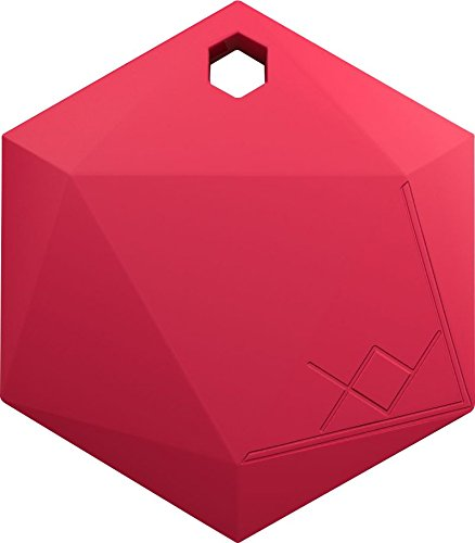 Xy3 1 Item Finder By Xy Findables   Anti Theft Alarm Item Locator   Find Your Lost Keys  Wallet  Phone  Etc   Low Energy 4 0 Bluetooth Tracker   Sleek Hexagon Design   Qty 1  Ruby