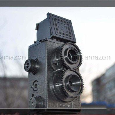 Pixco DIY TLR Twin Lens Reflex Camera 35mm Gakken Lomo Holga by Pixco