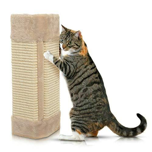 Foodie Puppies Corner Sisal Wall Scratcher Cats Hanging Cat Scratching Post Board