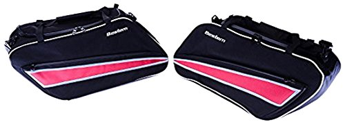 Hard Saddlebag Liners (Bestem (LGHD-GLIDE-SDL2) Deluxe Saddlebag Liner for Harley Davidson Glide Road King Hard Classic, Pair)