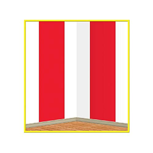 White Stripes Backdrop (with Sticky Notes) ()