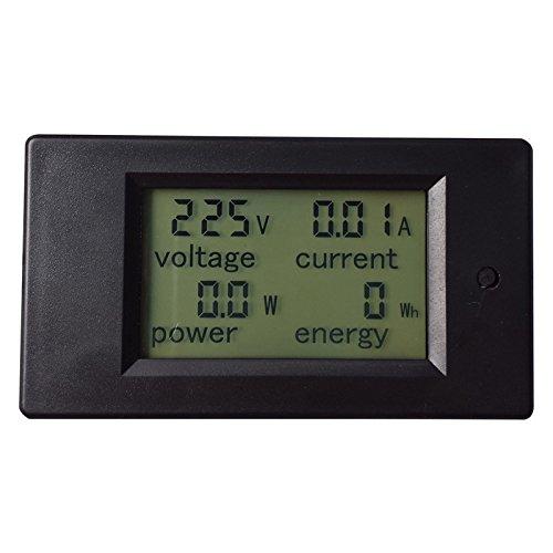 - Power Meters - 1pc Ac 80 260v Lcd Digital 20a Volt Watt Power Meter Ammeter Voltmeter Electrical Analysis - Fibra Crankset Usage 9000 Optic Jdsu Base Power Sensor Fluke Single Switch Dig