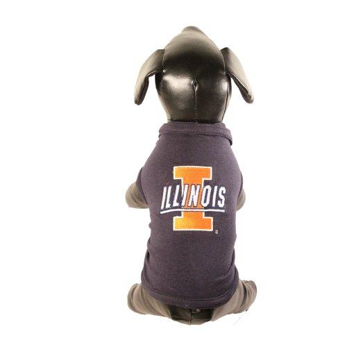 NCAA Illinois Illini Cotton Lycra Dog Tank Top, Medium