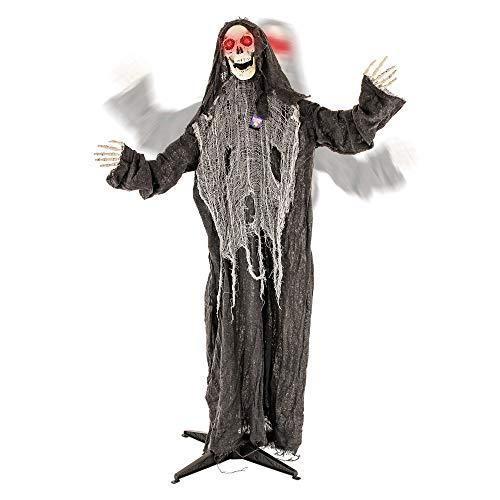 Lifesize Animated Halloween Props - Halloween Haunters Animated Standing Life Size
