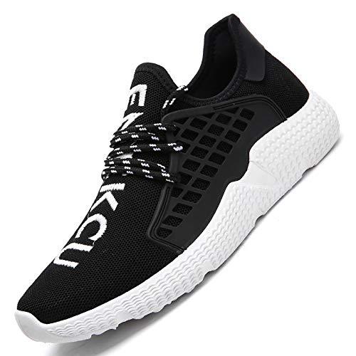 Libre Deportes Flying Transpirable black Tejido al Deportivos Aire Zapatos Casual Moda Nueva Hasag nqRPYw8X