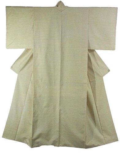 維持執着誰もリサイクル 着物 紬 紅花染 渡源織物 裄62.5cm 身丈161cm 正絹 袷