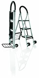 Travel Smart by Conair Ladderkart Professional Grade Stepladder