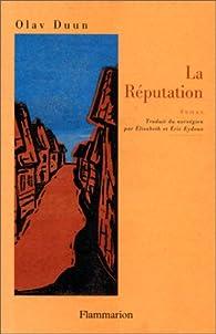 La réputation par Olav Duun