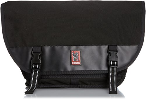 Chrome Mini Metro Messenger Bag Black/Black, One Size by Chrome