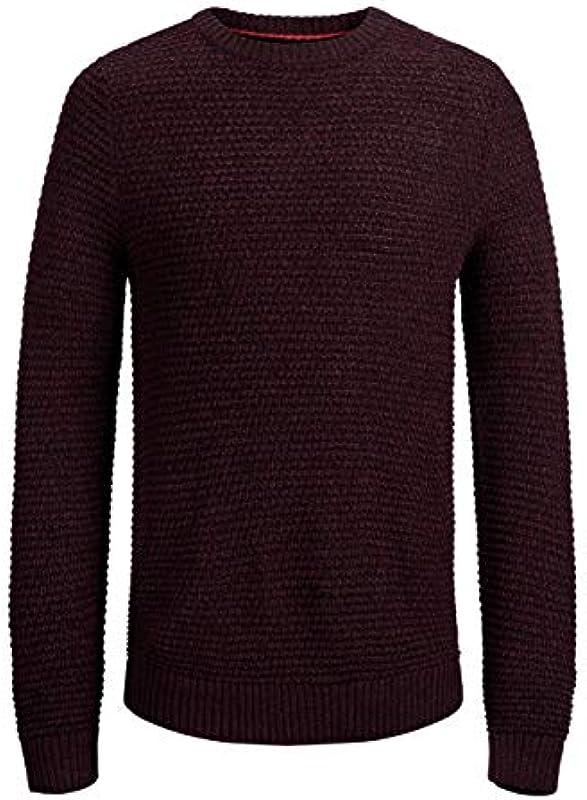 JACK & JONES męski sweter JORDALE Knit Crew Neck: Odzież