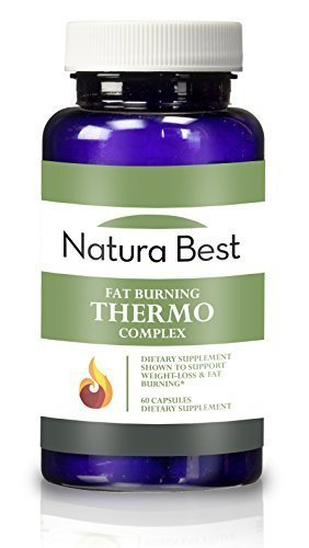 Naturabest Thermogenic Fat Burner and Weight Loss Supplement - Ultimate Belly Fat Burner for Men and Women, Increases Metabolism, Energy Booster