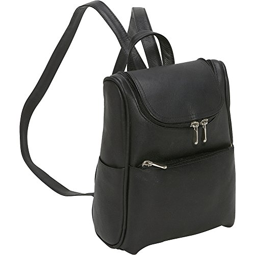 le-donne-leather-womens-everyday-backpack-purse-black