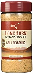 Longhorn Steakhouse Signature Grill Seasoning: Bold blend Combines cumin, garlic and peppers Brings out the flavor of anything you put on the grill