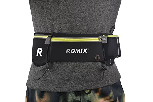 Cheap PT Men Women Running Belt Waist Pack With Watter Bottle Holder For Hiking,Jogging,Travel, Fit Iphone 6 7 Plus Galaxy S6 S7 Edge S8 Plus Note 8 & More Up 5.5″