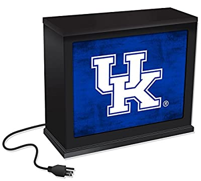 """KH Sports Fan 1012101285 9.75""""X7.75"""" Kentucky Wildcats Colored Logo Acrylic Collage Art Plaque"""