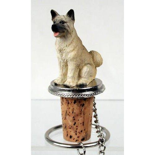 Akita, Fawn Dog Bottle Buddy (3 (Akita Fawn Figurine)