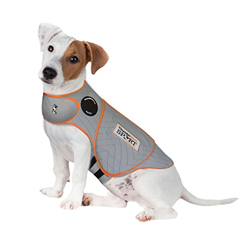 Thundershirt Sport Dog Anxiety Jacket, Platinum, Small