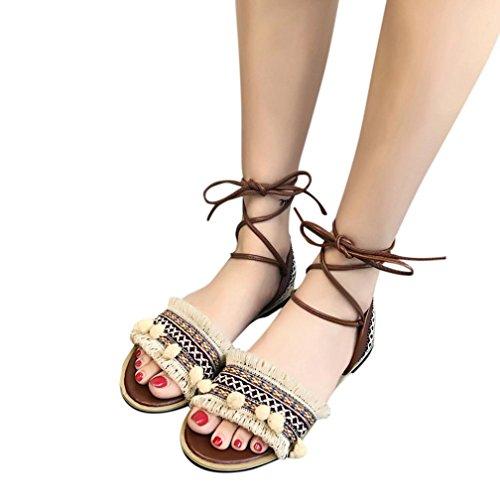 Calzado Nuevas Verano Chancletas Zapatos Planos Tacones Sandalias 8ywOv0mNn