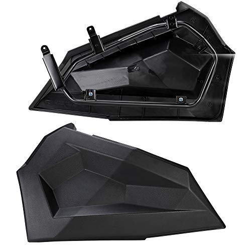 KEMIMOTO Lower Door Insert Panels with OEM Style Frame Works for 4 doors 2014-2018 Polaris RZR XP4 1000 XP 900