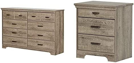 South Shore Versa Collection 8-Drawer Double Dresser