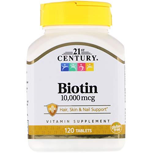 - 21st Century, Biotin, 10,000 mcg, 120 Tablets