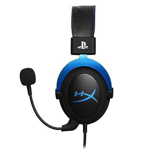 HyperX Cloud Gaming Headset - Playstation 4 - Officially Licensed Sony Interactive Entertainment LLC PS4 Systems - Black/Blue (HX-HSCLS-BL/AM) by HyperX (Image #1)