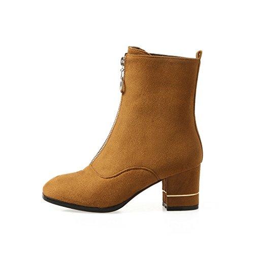 Balamasaabl09298 - Sandales Compensées Pour Femmes, Jaune (jaune), 35
