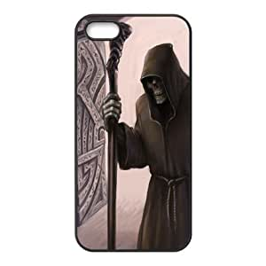 Iphone 5,5S Devil Phone Back Case Personalized Art Print Design Hard Shell Protection YT103136