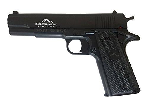 Big Country Airguns The Classic 1911 Spring BB Gun, 4.5mm