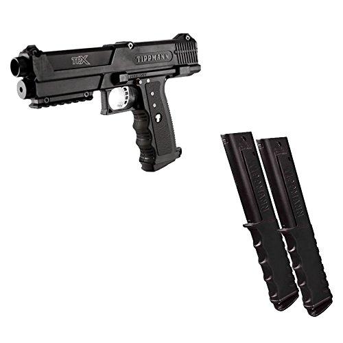 Tippmann TIPX Pistol Extended Magazine Package (Black) ()