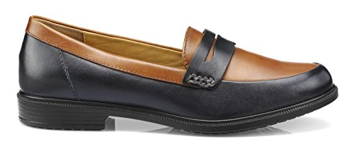 tan Dorset Navy Blue Women's Hotter Shoe XPFaqR