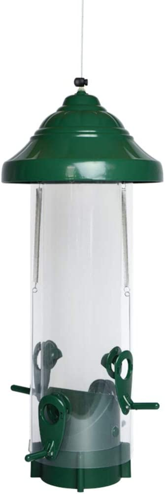 Nature's Way Bird Products PSP1 Squirrel Proof Feeder, Green