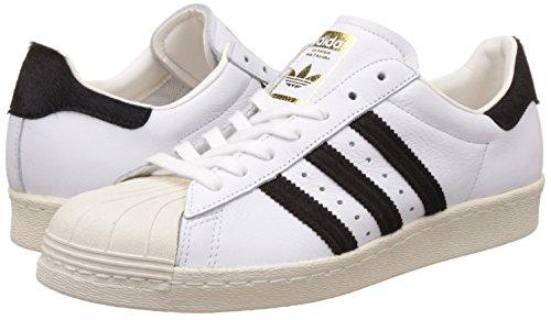Scarpe Tennis 15709 Turnschuhe da adidas Herren Schuhe 80s Uomi Superstar 1 Originals amp; BB2231 Sneaker 3 43 Bianche 6wffYIR