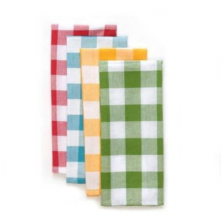 - The Pioneer Woman Charming Check Kitchen Towel Set, 4pk