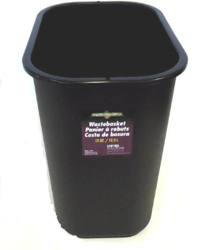 DDI 1336297 13qt. Wastebasket Case Of 12 United Plastics