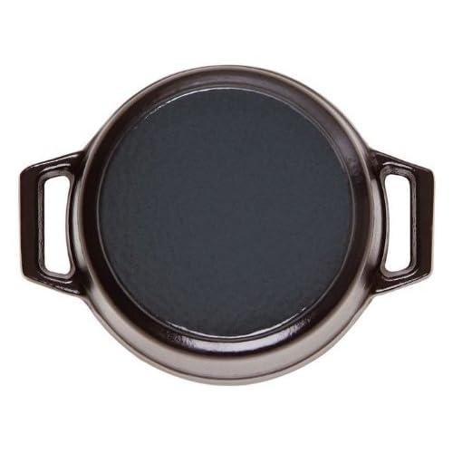 Staub USA Black 2.75 Qt. Round Cocotte